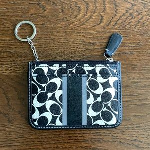 Coach Cardholder with Key Chain